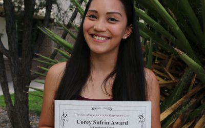 Student Awarded Respiratory Therapy Scholarship