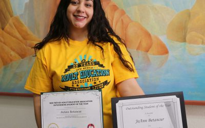 ENMU-Roswell Student Honored in Santa Fe