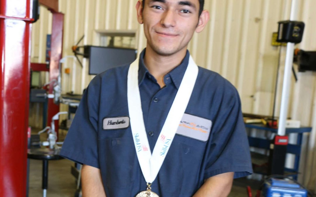 Auto Tech Student is National SkillsUSA Champion