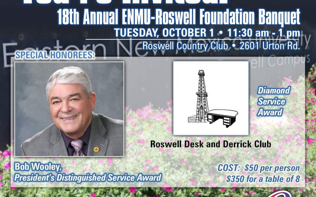 Foundation to Hold 18th Annual Banquet