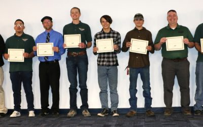 Aviation Maintenance Technology Students Celebrate Graduation