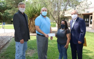 Roswell Hispano Chamber Awards Scholarship to ENMU-Roswell Student