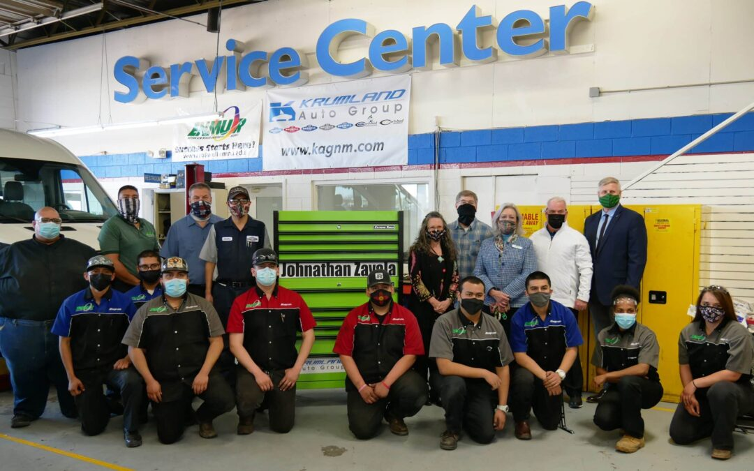 ENMU-Roswell Automotive Program Partners with Krumland Auto Group for Temporary Training Facility