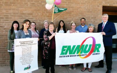 ENMU-Roswell Instructors Honored as Teachers of Character