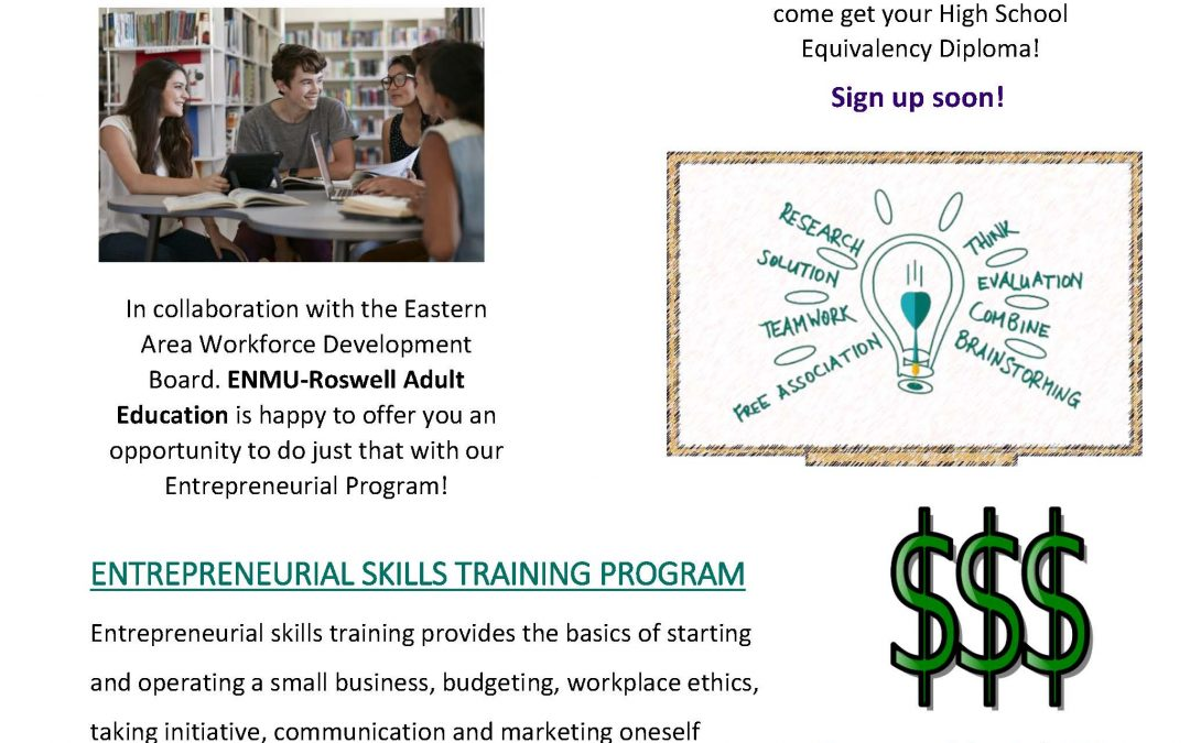 Adult Education Entrepreneurial Program