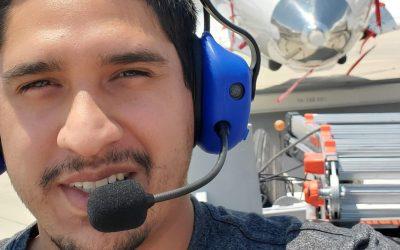 ENMU-Roswell AMT Graduate Enjoying Dream Job at Virgin Galactic