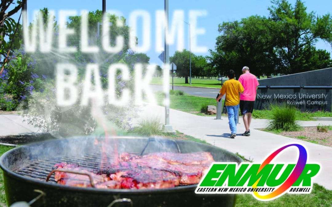 Welcome Back Event: August 5
