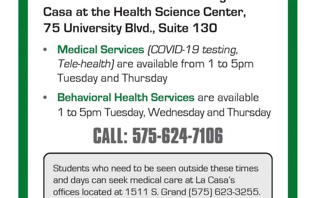Student Medical & Behavioral Health Services